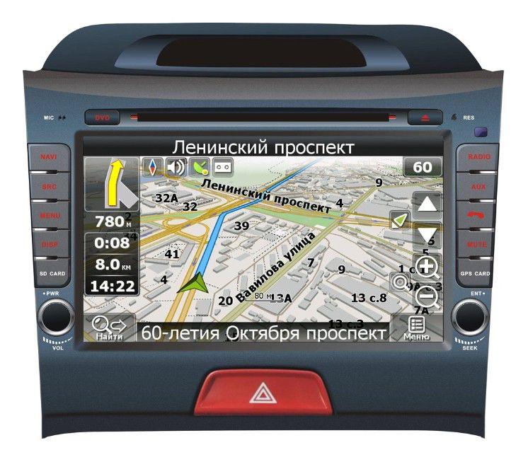 Автомагнитола VELAS V-KSP,  KIA Sportage (New),  USB,  SD