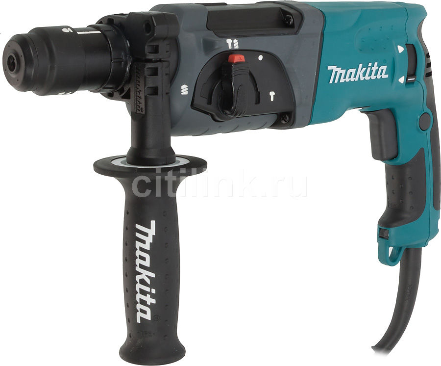 Перфоратор MAKITA HR2470FT  перфоратор makita hr2470ft sds plus 780вт бзп