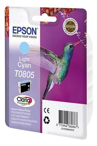 Картридж EPSON T0805 светло-голубой [c13t08054011]