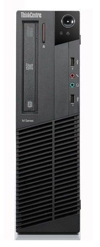 Компьютер  LENOVO ThinkCentre M81 SFF,  Intel  Core i5  2400,  DDR3 4Гб, 500Гб,  Intel HD Graphics 2000,  DVD-RW,  Windows 7 Professional,  черный [5049ra1]