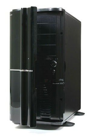 Корпус ATX THERMALTAKE Soprano VB1000BNS, Midi-Tower, без БП,  черный