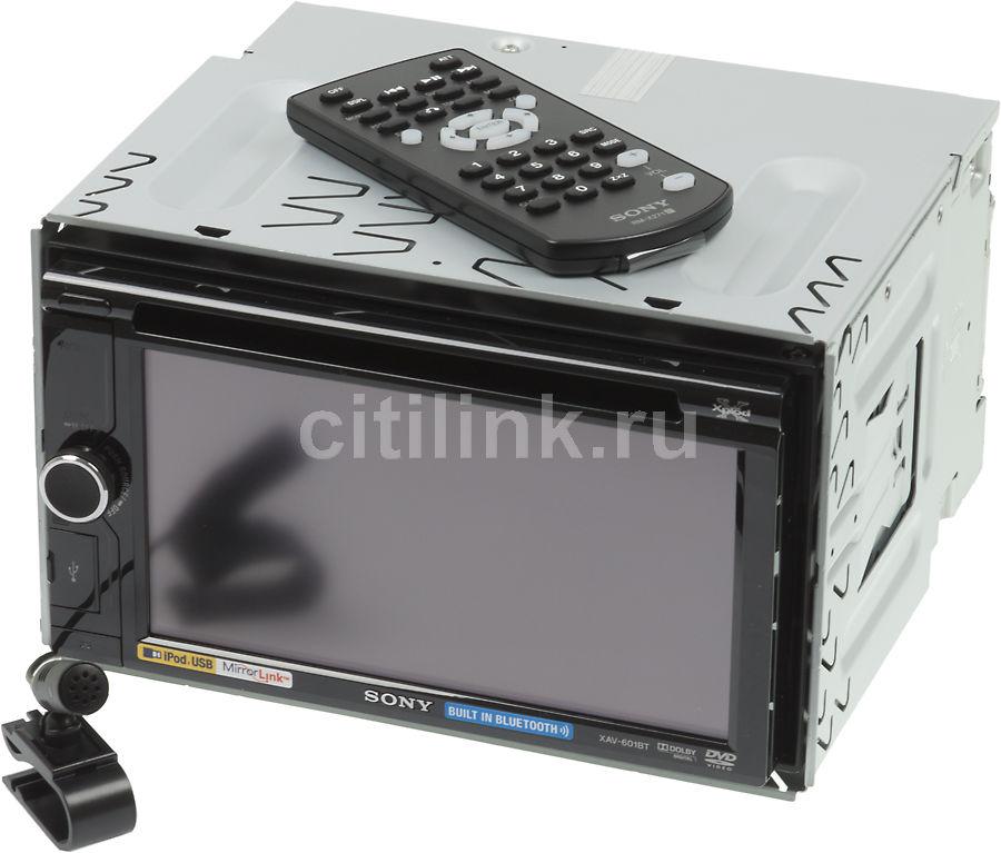 Автомагнитола SONY XAV-601BT,  USB
