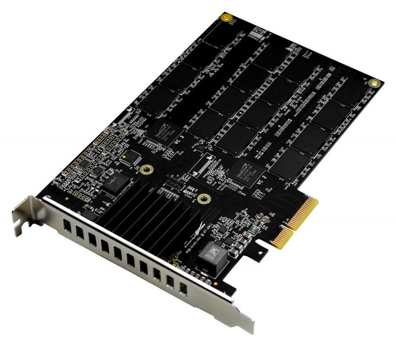 Накопитель SSD OCZ RevoDrive 3 Max IOPS RVD3MI-FHPX4-120G 120Гб, PCI-E AIC (add-in-card), PCI-E x4