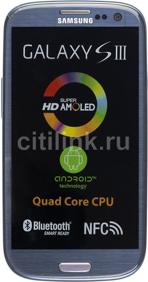 Смартфон SAMSUNG Galaxy S III GT-I9300  16Gb, синий