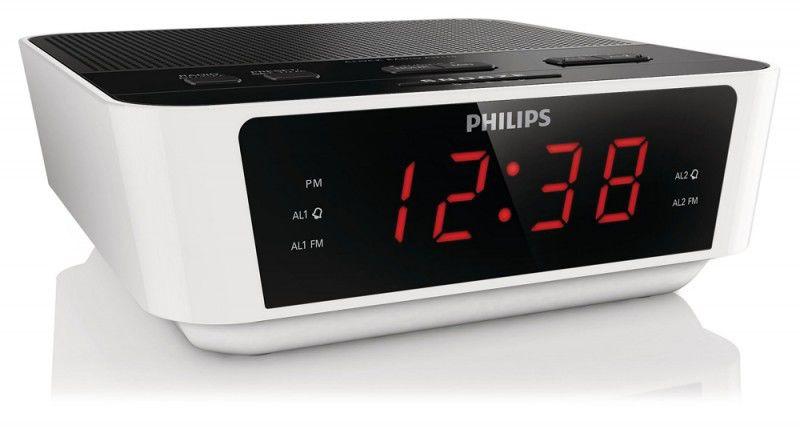Радиобудильник PHILIPS AJ3115/12, белый