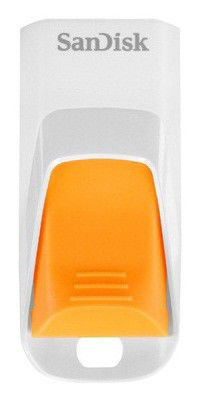 Флешка USB SANDISK Cruzer Edge 32Гб, USB2.0, оранжевый [sdcz51w-032g-b35o]