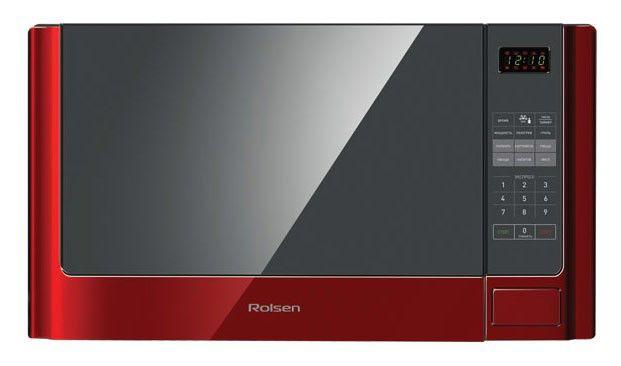 Микроволновая печь ROLSEN MG2380SLR, красный