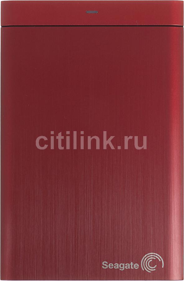 Внешний жесткий диск SEAGATE Backup Plus STBU1000203, 1Тб, красный