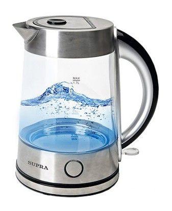 Чайник электрический SUPRA KES-2003, 2200Вт, белый