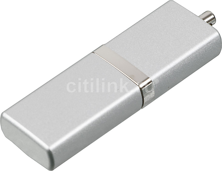 Флешка USB SILICON POWER LuxMini 710 16Гб, USB2.0, серебристый [sp016gbuf2710v1s]