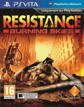 Игра SONY Resistance: Burning Skies для  PlayStation Vita Rus