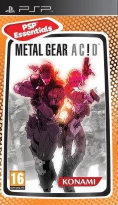 Игра SONY Metal Gear Ac!d (Essentials) для  PSP Eng