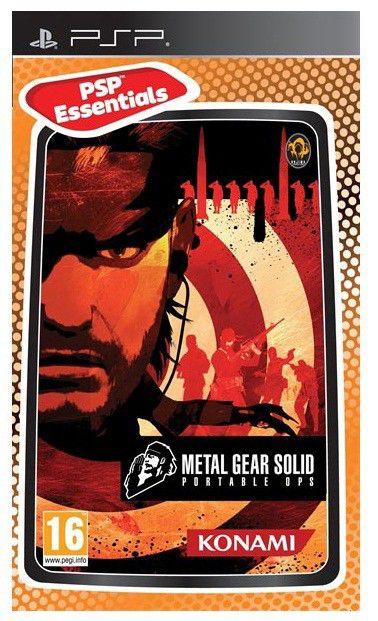 Игра SOFT CLUB Metal Gear Solid Portable Ops (Essentials) для  PSP Eng
