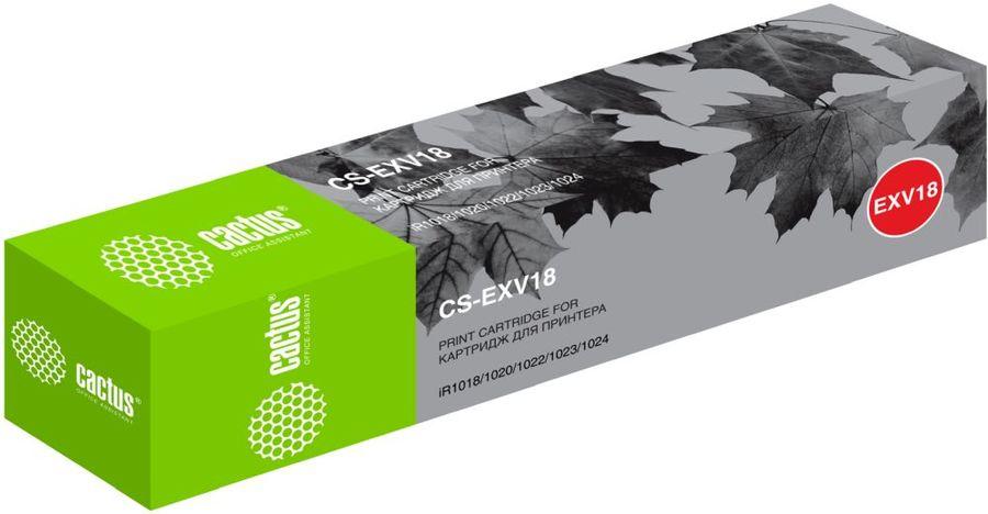 Картридж CACTUS CS-EXV18 черный