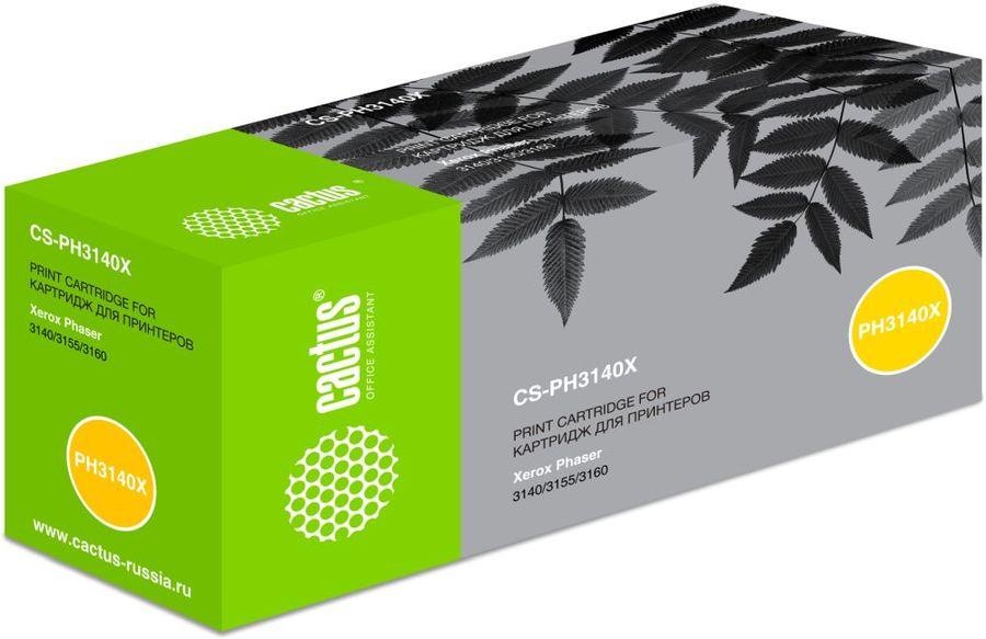 Картридж CACTUS CS-PH3140X черный