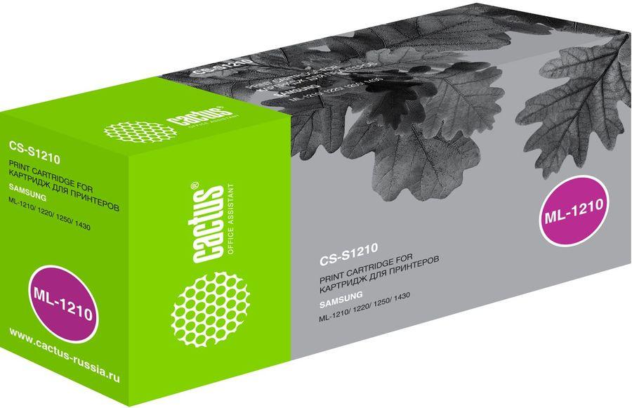 Картридж CACTUS CS-S1210 черный
