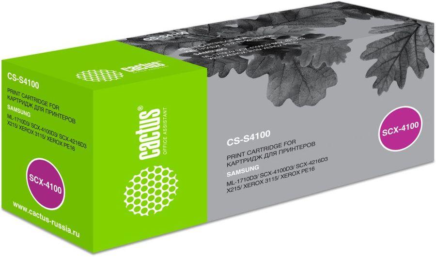 Картридж CACTUS CS-S4100 черный