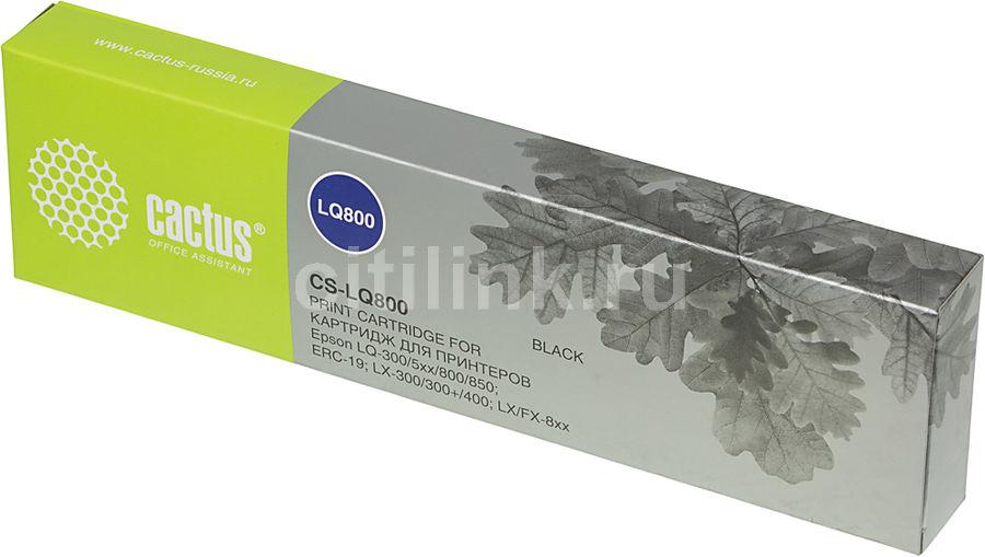 Картридж CACTUS CS-LQ800 черный