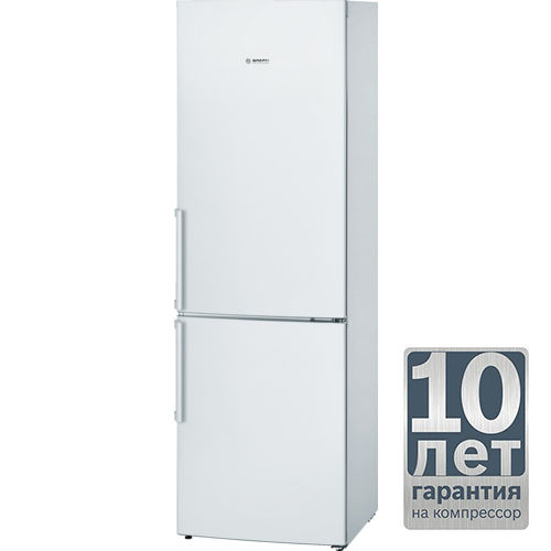 Холодильник BOSCH KGV36XW20R,  двухкамерный,  белый