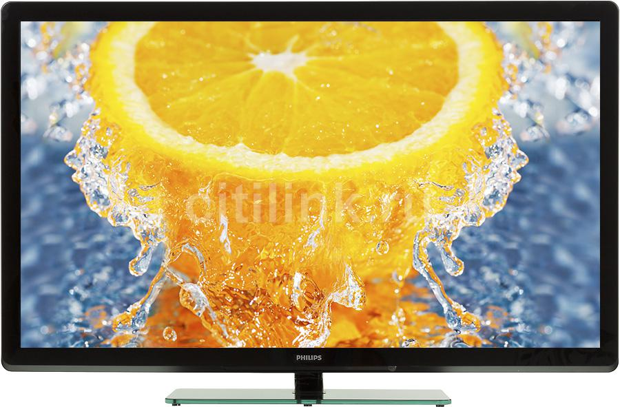 "Телевизор ЖК PHILIPS 42PFL3007H/60  ""R"", 42"", FULL HD (1080p),  черный"