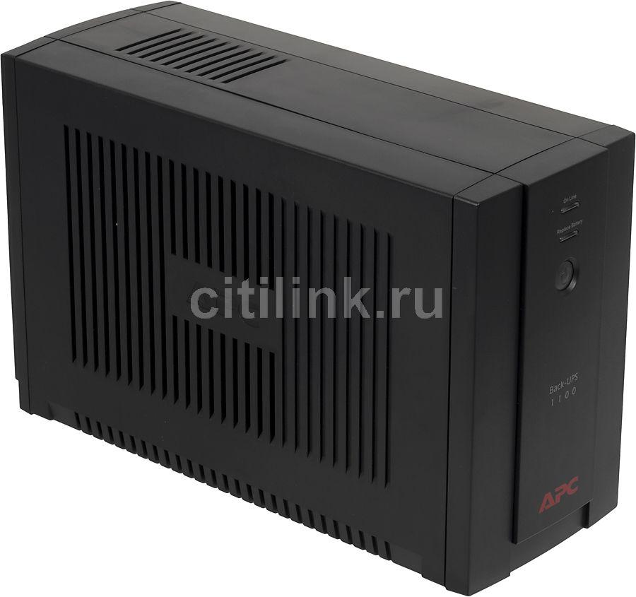 Источник бесперебойного питания APC Back-UPS BX1100CI,  1100ВA