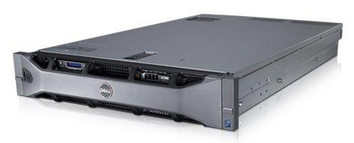 Сервер Dell PE R710 1xE5620 2.4/8G(2x4G RD 2R 1333)/SAS 2.5