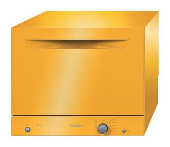 Посудомоечная машина BOSCH SKS50E11RU,  компактная, желтый