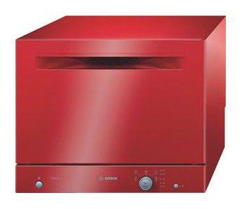 Посудомоечная машина BOSCH SKS50E01RU,  компактная, красный