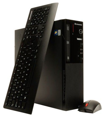 Компьютер  LENOVO ThinkCentre Edge 71 SFF,  Intel  Pentium Dual-Core  G850,  DDR3 2Гб, 500Гб,  Intel HD Graphics,  DVD-RW,  CR,  Windows 7 Professional,  черный [sggp4ru]