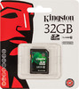 Карта памяти SDHC KINGSTON 32 ГБ, Class 10, SD10VG2/32GB,  1 шт. вид 1