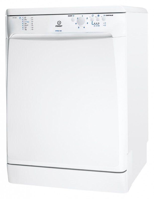 Посудомоечная машина INDESIT DFP 2727,  полноразмерная, белая