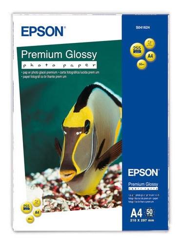 Бумага Epson A4 50л 255г/м2 Глянцевая высококачественная (S041624)