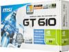 Видеокарта MSI nVidia  GeForce GT 610 ,  1Гб, DDR3, Low Profile,  Ret [n610gt-md1gd3/lp] вид 7