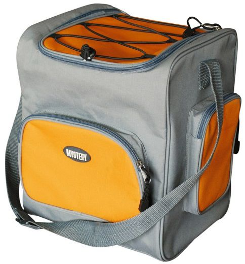 Автохолодильник MYSTERY MTH-16B,  16л,  серый и оранжевый