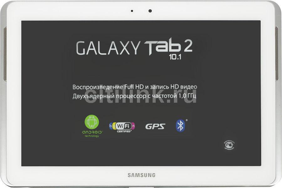Планшет SAMSUNG Galaxy Tab 2 GT-P5100,  16GB, 3G,  Android 4.0 белый [gt-p5100zwaser]