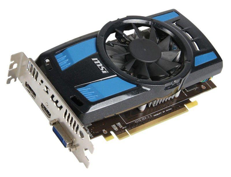 Видеокарта MSI Radeon HD 7750,  1Гб, GDDR5, OC,  Ret [r7750 power edition 1gd5/oc]