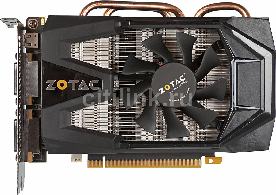 Видеокарта ZOTAC GeForce GTX 570 Synergy, ZT-50206-10M,  1.3Гб, GDDR5, Ret