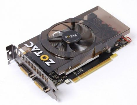 Видеокарта ZOTAC GeForce GTX 550Ti,  1Гб, GDDR5, Ret [zt-50404-10l]