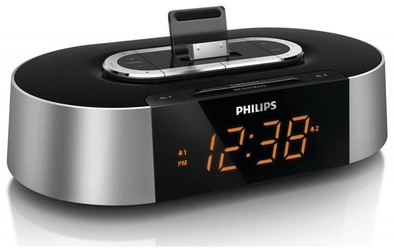 Радиобудильник PHILIPS AJ7030D/12, серебристый