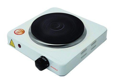Электрическая плита SUPRA HS-101,  эмаль,  белый [1441]