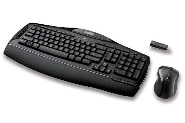 Комплект (клавиатура+мышь) LOGITECH MX 3200, USB, беспроводной, черный [967688-0112]
