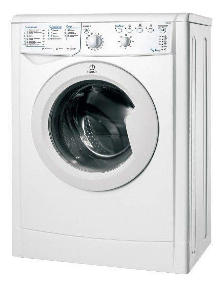 Стиральная машина INDESIT IWSB 6105 CIS, фронтальная загрузка,  белый