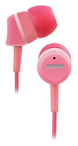 Наушники BBK EP-1220S, вкладыши, розовый, проводные