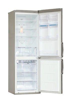 Холодильник LG GA-B409SAQA,  двухкамерный,  серебристый