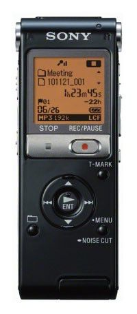Диктофон SONY ICDUX502B 2 Gb,  черный [icdux502b.ru2]