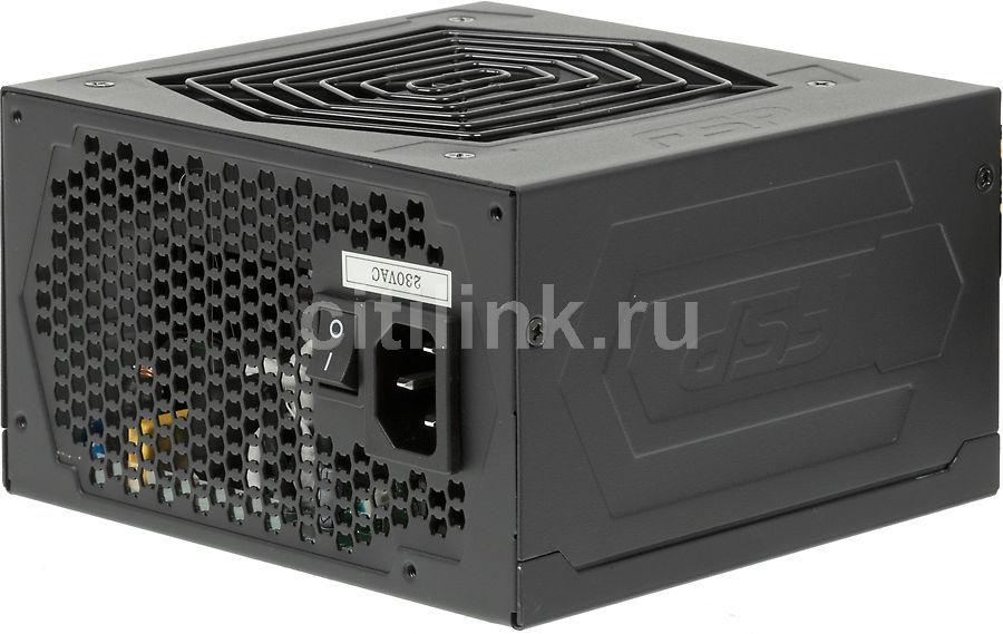 Блок питания FSP Hexa AXE600,  600Вт,  120мм,  черный, retail