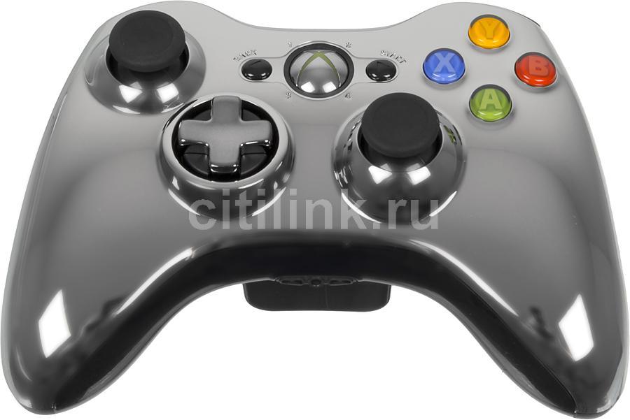 Геймпад MICROSOFT 43G-00020, для  Xbox 360, серый