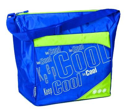Сумка-термос EZETIL Keep Cool Holiday,  26л,  синий и зеленый [kc holiday 28]