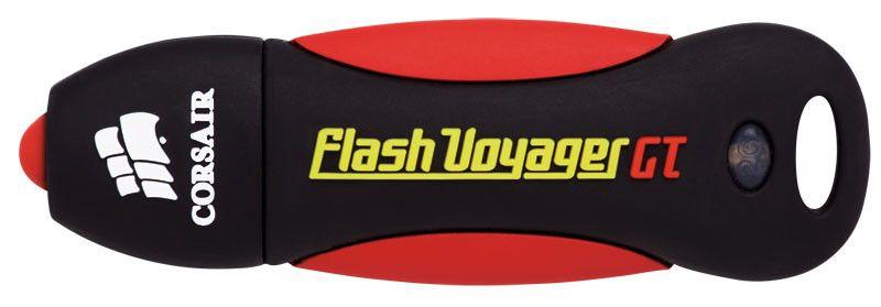 Флешка USB CORSAIR Voyager GT 32Гб, USB3.0, красный и черный [cmfvygt3s-32gb]