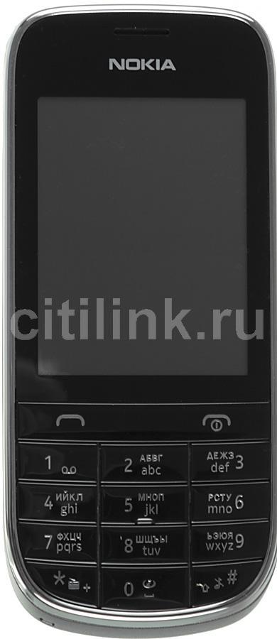 Мобильный телефон NOKIA Asha 203  темно-серый
